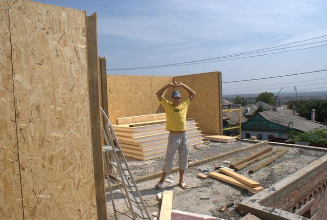 Как построить дом из панелей сип своими руками